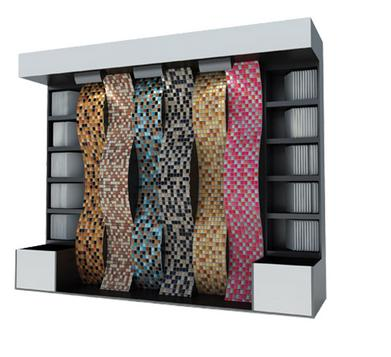 Door curtain Mosaic Board Rack-M011