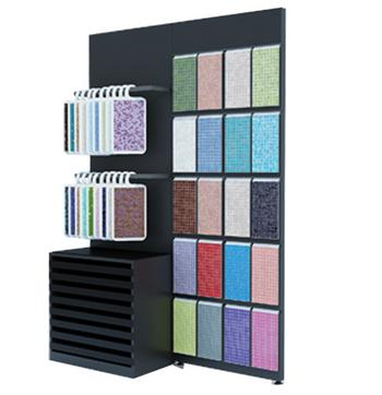 Mosaic Board Display Cabinet,Combined Goods Shelf-M015
