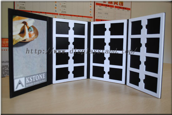 4 pages Marble Sample Book Stone Sample Binder-B006